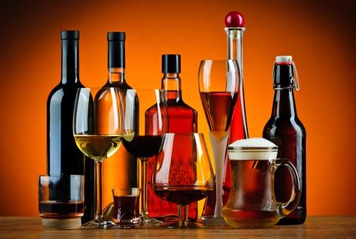 el alcohol engorda