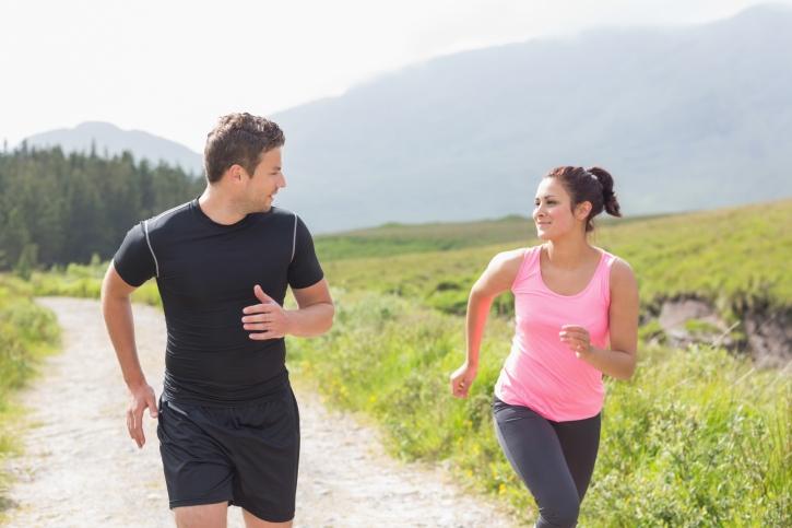 salir a correr en pareja