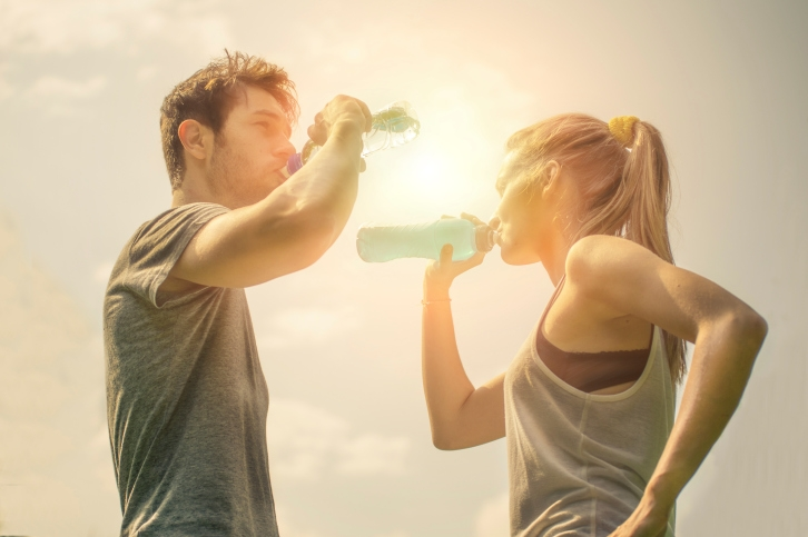 Hidratación y calor portada