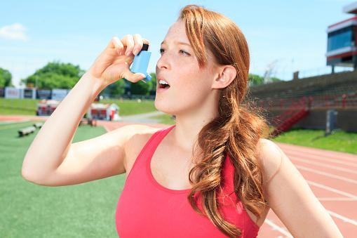 Asma y el running