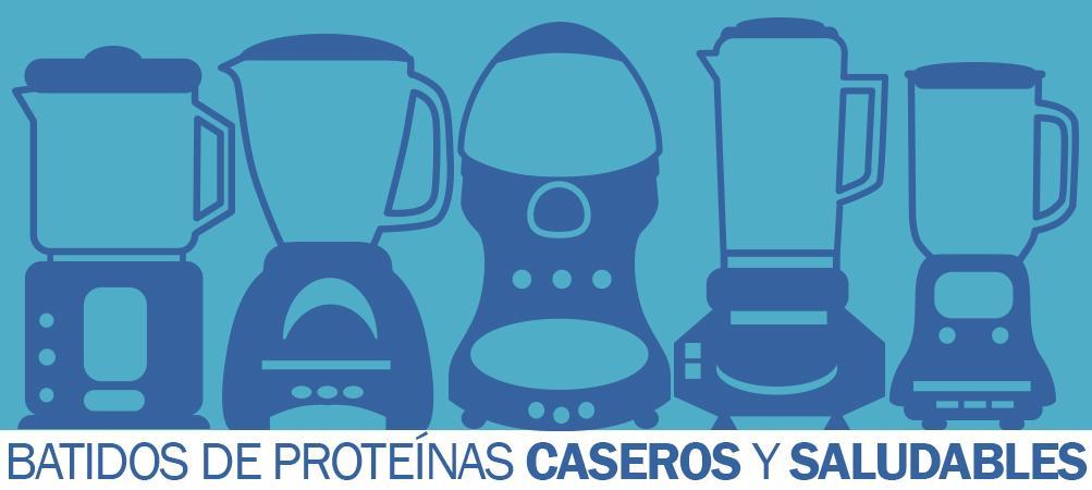 cómo hacer batidos de proteínas caseros