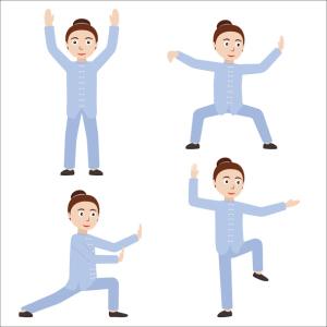 Secuencia de ejercicios de Chi Kung